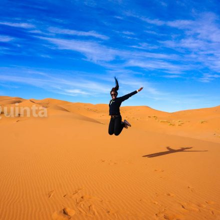 Dr. Quinta - Sahara Desert-traveling solo