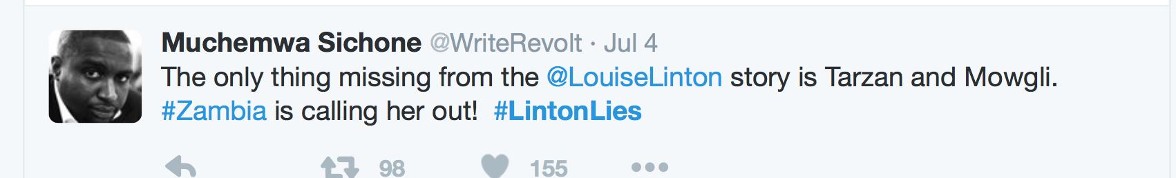 #LintonLies