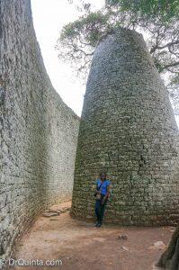 At The Great Zimbabwe Ruins