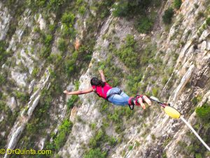 Bungee jumping bucket list