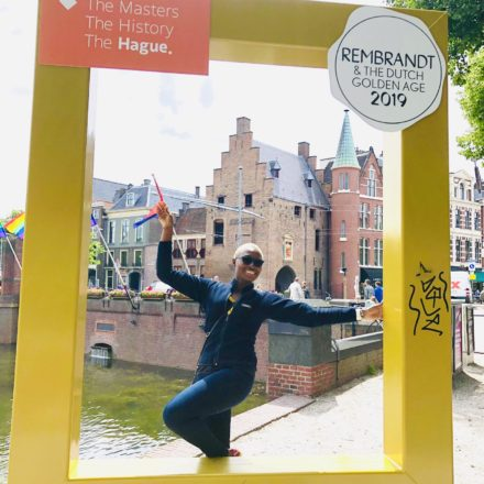 Travel light at The Hague-DrQuinta